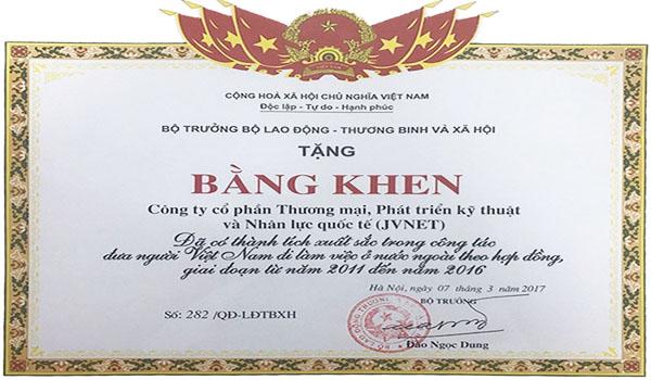 cong ty xuat khau lao dong nhat ban jvnet